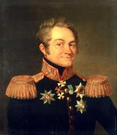 Доу Д. Ф. Портрет Александра Борисовича Фока
