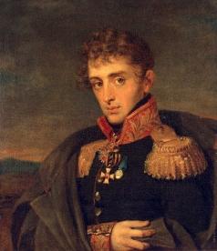 Доу Д. Ф. Портрет Александра Алексеевича Тучкова