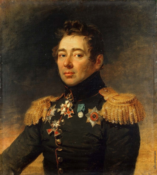 Доу Д. Ф. Портрет Алексея Петровича Никитина