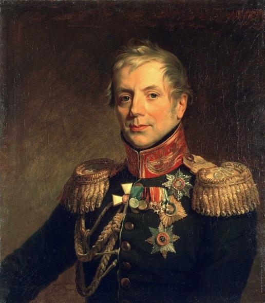 Доу Д. Ф. Портрет Петра Петровича Коновницына