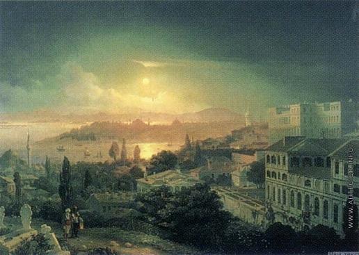 Дорогов А. М. Вид Константинополя