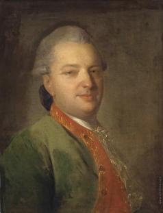 Рокотов Ф. С. Портрет В.И.Майкова