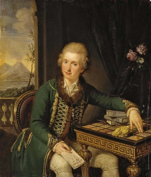 Гуттенбрунн Л. G. Портрет графа Михаила-Иоганна фон дер Борха