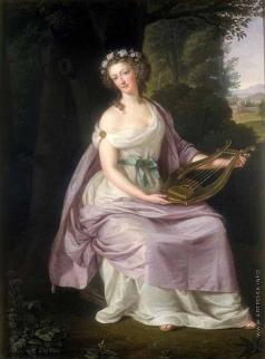 Гуттенбрунн Л. G. Королева Мария Антуанета