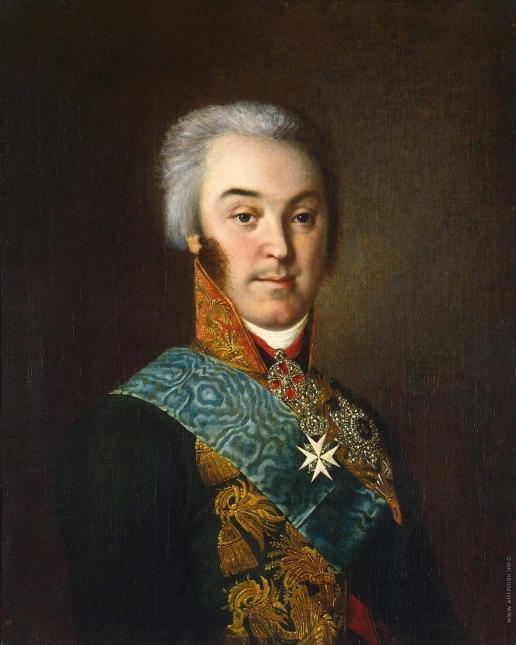Аргунов И. П. Портрет графа Николая Петровича Шереметева