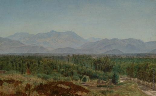 Иванов А. А. Долина и горы