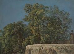 Иванов А. А. Нижняя галерея в Альбано со входом на виллу Барберини