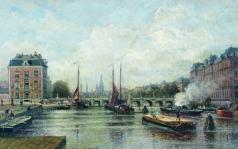 Боголюбов А. П. Город на реке. Амстердам