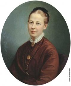 Горбунов К. А. Женский портрет
