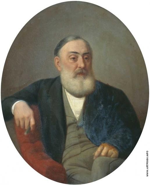 Горбунов К. А. Портрет Николая Петровича Боткина