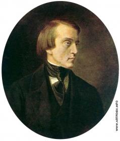 Горбунов К. А. Портрет В.Г. Белинского