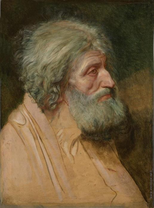 Иванов А. А. Апостол Андрей (полуфигура)