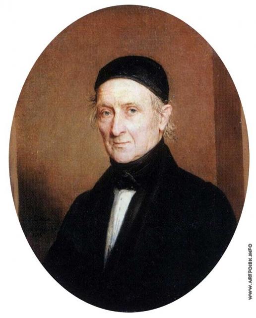 Голике В. А. Портрет неизвестного в пожилом возрасте