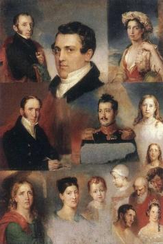 Голике В. А. Отдельные изображения, представляющие собой варианты или фрагменты произведений В.А. Голике