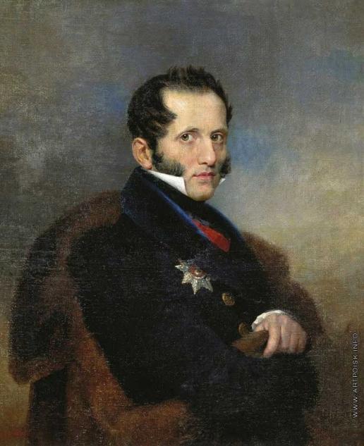 Голике В. А. Портрет графа С.С. Уварова