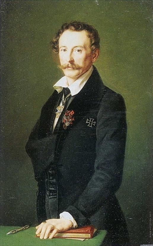 Гильдебрандт Ф. Т. Портрет художника Е.Р. Рейтерна