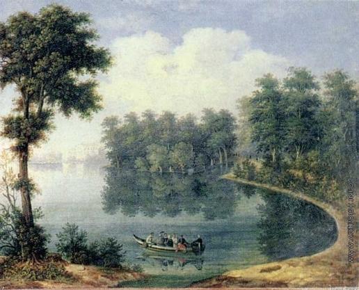 Галактионов С. Ф. Озеро в парке