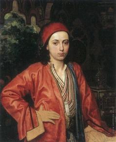 Гагарин Г. Г. Портрет молодого турка