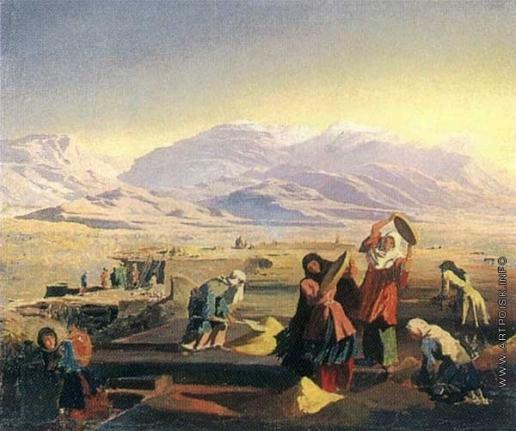 Гагарин Г. Г. Провеивание зерна на Северном Кавказе
