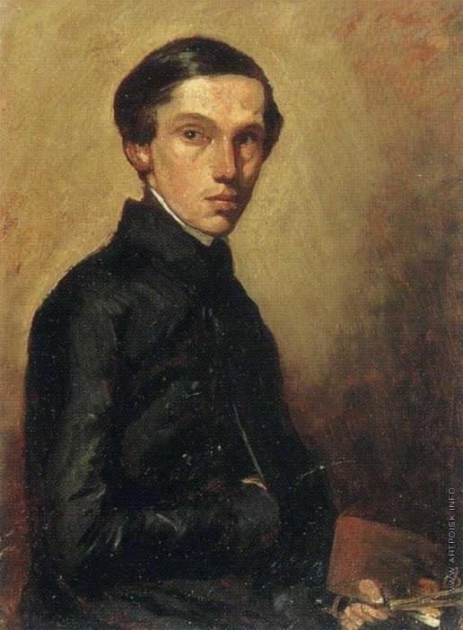 Гагарин Г. Г. Портрет художника