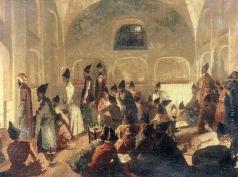 Гагарин Г. Г. В персидской мечети в Эривани. Вечер во время Рамазана