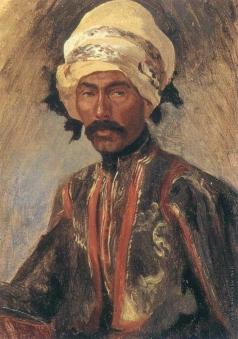 Гагарин Г. Г. Портрет знатного курда