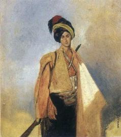 Гагарин Г. Г. Молодой курд