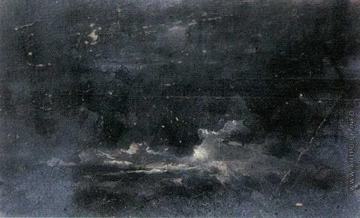 Гагарин Г. Г. Ночной пейзаж