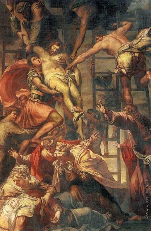 Габерцеттель И. И. Снятие с креста
