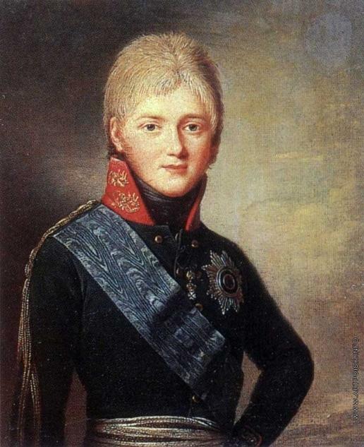 Вуаль Ж. Портрет Александра I