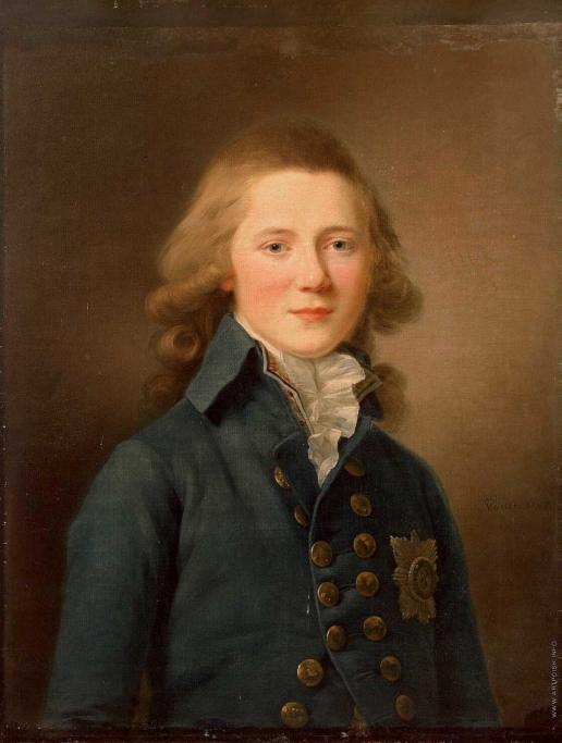Вуаль Ж. Портрет Великого князь Александра Павловича