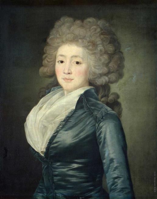 Вуаль Ж. Портрет Ольги Щербатовой
