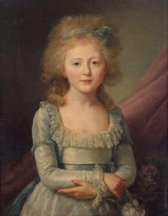 Вуаль Ж. Портрет великой княгини Елены Павловны в детстве