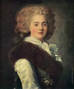Вуаль Ж. Портрет Екатерины Нарышкиной