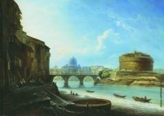 Боголюбов А. П. Замок Св. Ангела в Риме