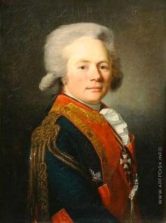 Вуаль Ж. Портрет графа Ф.Ф. Буксгевдена