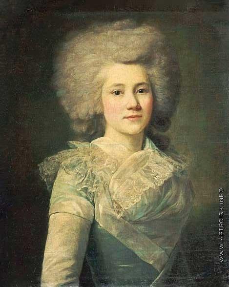 Вуаль Ж. Портрет княгини Е.С. Долгорукой