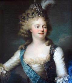 Вуаль Ж. Портрет императрицы Марии Федоровны