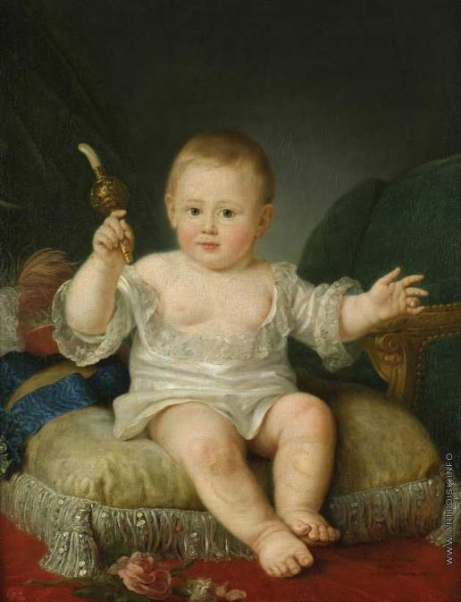 Вуаль Ж. Великий князь Александр Павлович в детстве