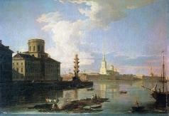 Воробьев М. Н. Петропавловская крепость