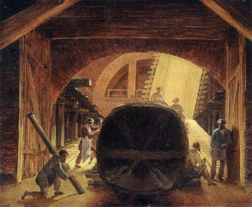 Воробьев М. Н. Постройка Исаакиевского собора