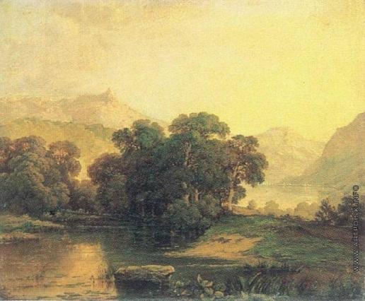 Воробьев М. Н. Швейцарский пейзаж