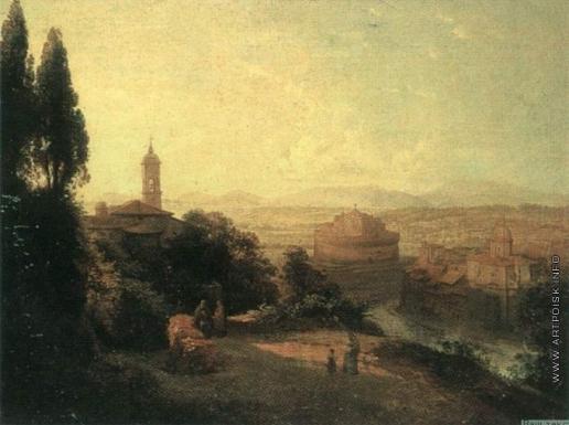 Воробьев М. Н. Вид Рима
