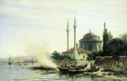 Боголюбов А. П. Золотой Рог в Константинополе