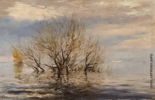 Светославский С. И. Наводнение на Оболони