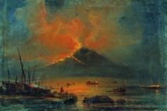 Боголюбов А. П. Извержение Везувия