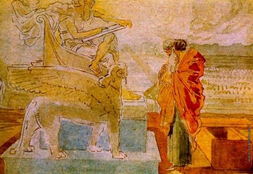 Иванов А. А. Моисей перед Богом
