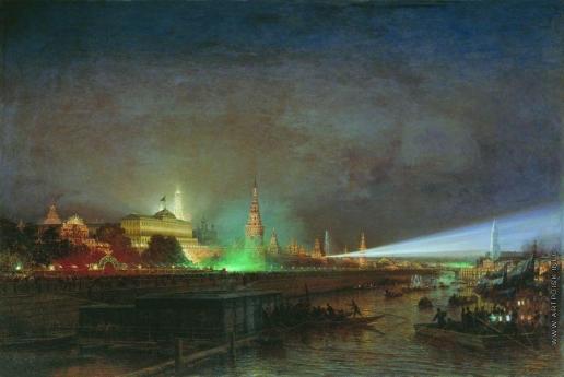 Боголюбов А. П. Иллюминация Кремля