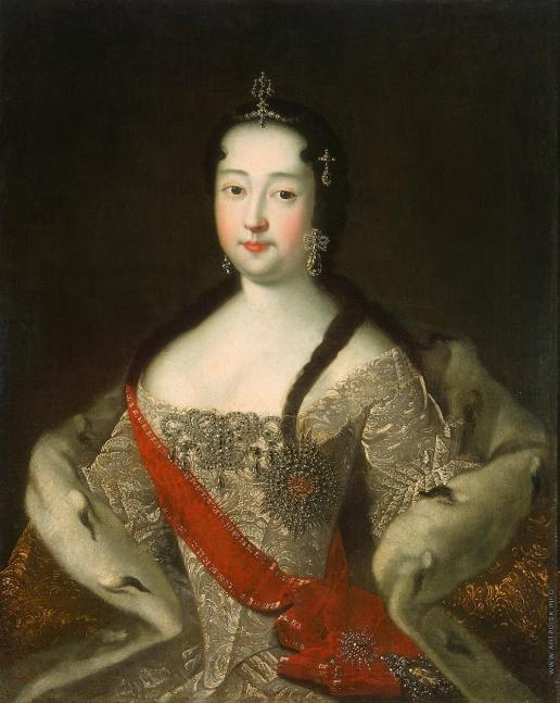 Адольский И. Г. Портрет царевны Анны Петровны
