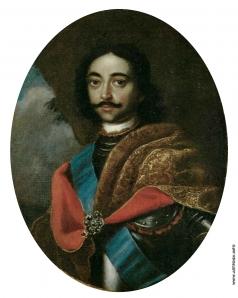 Адольский И. Г. Портрет Петра I
